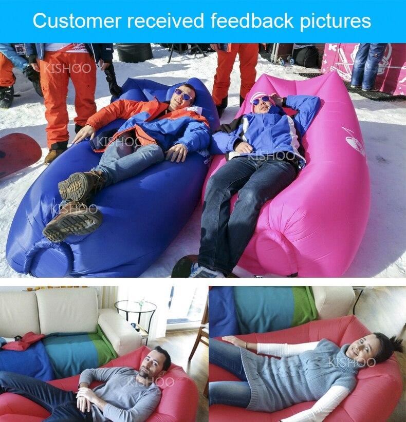 preguiçoso saco dormir rápido inflável preguiçoso sofá