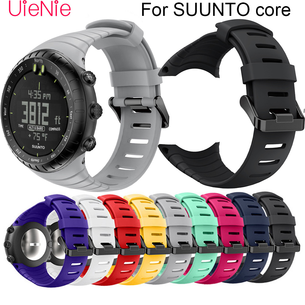 For SUUNTO Core Frontier/classic Soft Silicone Bracelet Replacement Strap For SUUNTO Core Smart Watch Wristband Accessories