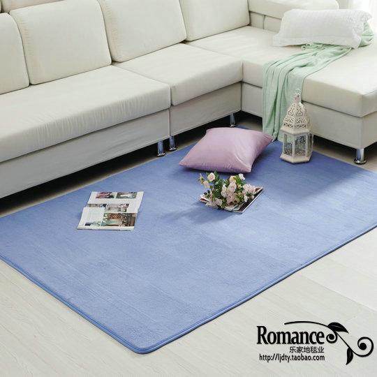 Lavage à l'eau ultrafine fibre élastique salon table basse lit tapis antidérapant ramper bébé tapis personnaliser