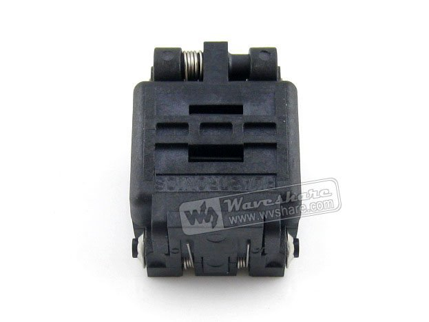 Qfn8 Mlp8 Mlf8 08qn65t33030 Qfn Plastronics Test Socket Programming Adapter 2 Sides 3*3mm 0.65mm Pitch module 08qn50t43020 plastronics ic test socket 0 5mm pitch for qfn8 mlp8 mlf8 package