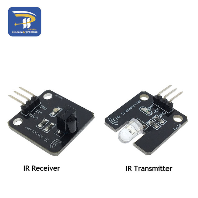 1set/lot IR Infrared Transmitter Module IR Digital 38KHz Infrared Receiver Sensor Module For Arduino Electronic Building Block