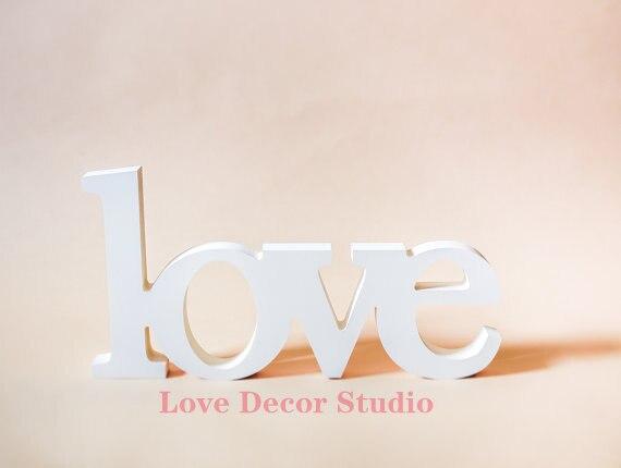 Амперсанд любовные письма пвх деревянные буквы свадьба украшения письма height8cm thickness1. 5 см