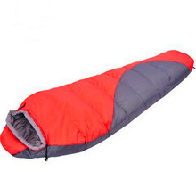 Camping Climbing Sleeping Bags Waterproof  Breathable Cotton Outdoor Hiking Equipment Connectable Windproof