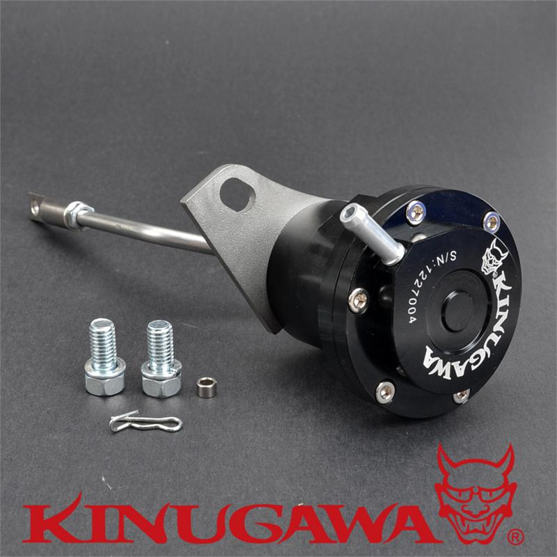 Kinugawa Adjustable Turbo Wastegate Actuator for Mitsubishi Starion TC05 TD05 TD05H 1.0 bar / 14.7 Psi цена 2017