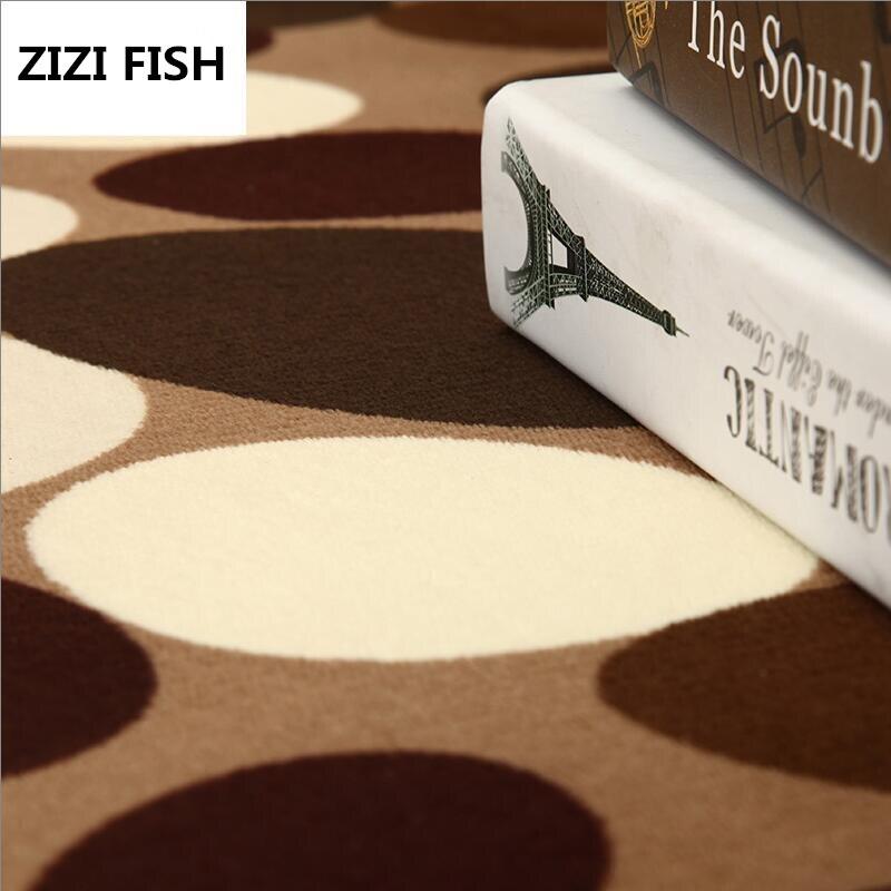 Мода круглый ковер журнальный столик комната спальня гостиная коврик детский сад коврик компьютер вращающееся кресло подушка украшения до...