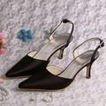 (20 Colores) Zapatos de Moda Sexy Puntiagudo Bombea Los Zapatos Formales para Mujeres Novia de La Boda