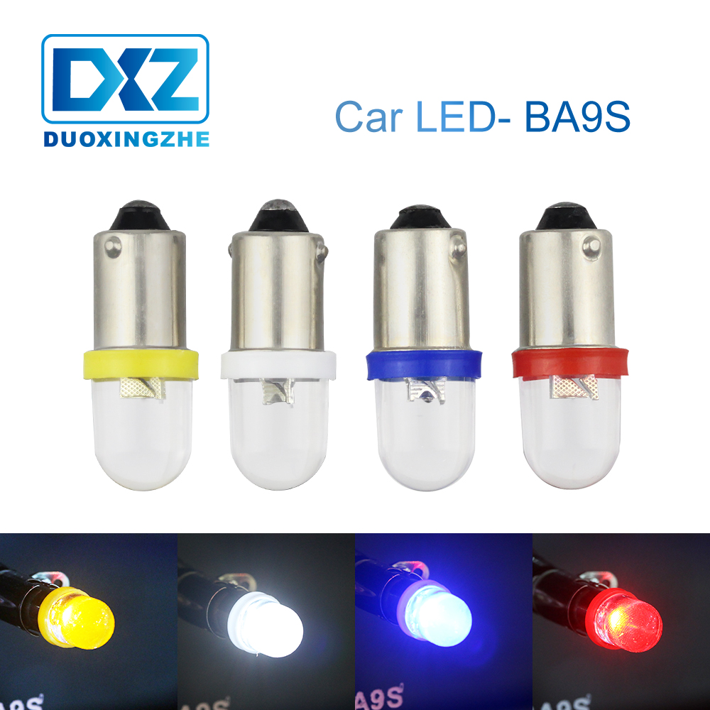 DXZ 1X BA9S LED Car Interior Light DC12V T4W  H6W BAY9S H21W Reading Dome Door Lamp Auto Clearance Parking Trunk Clearance Bulbs