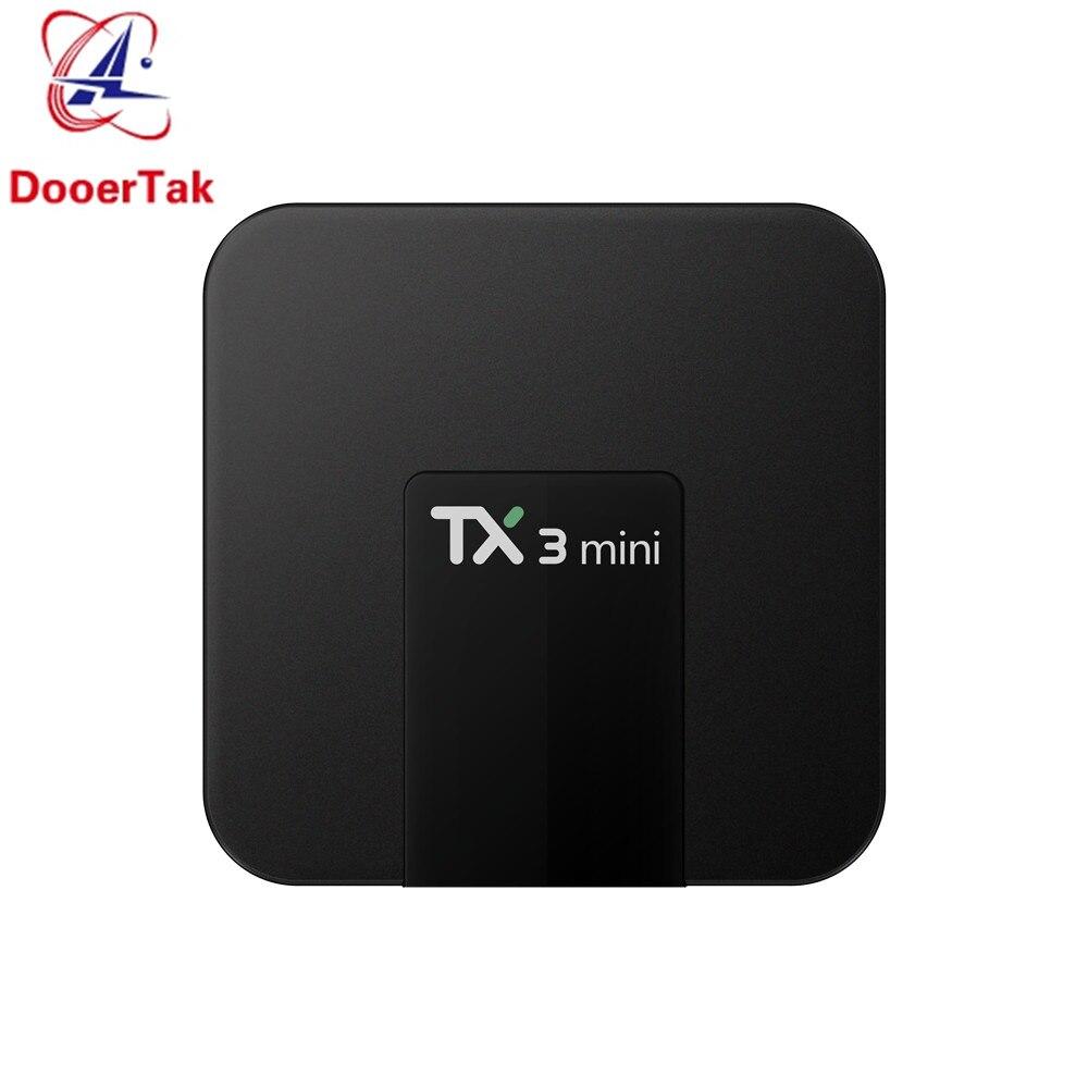 10pcs TX3 mini Android 7 1 4K TV BOX Amlogic S905W 1GB 8GB 2G 16G 2