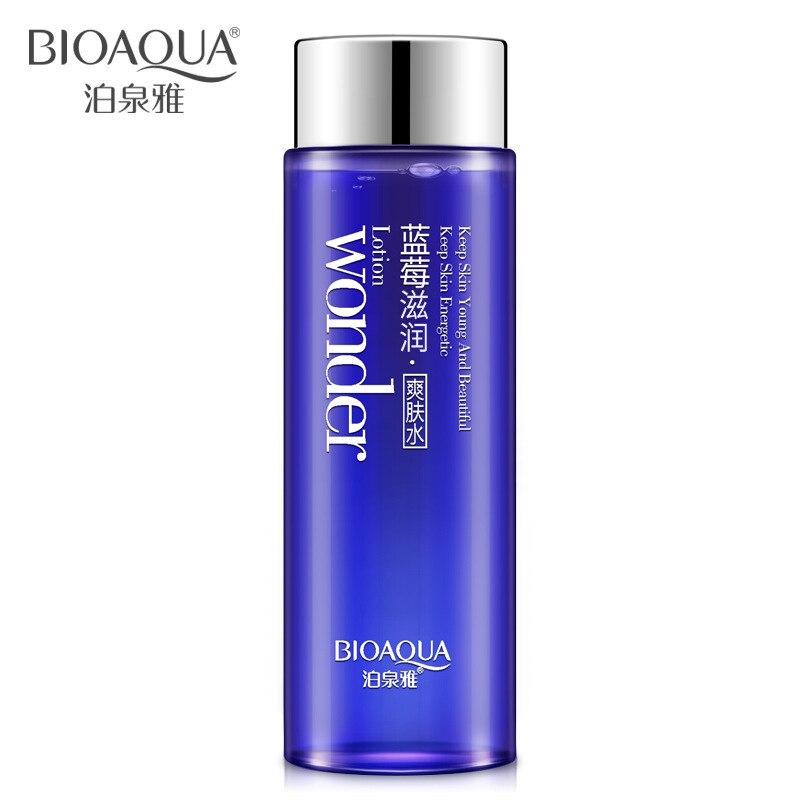 Голубика bioaqua чудо glow чудо Тоник для лица макияж вода гладкая Тонер для лица лосьон, масло управления пор увлажняющий уход за кожей
