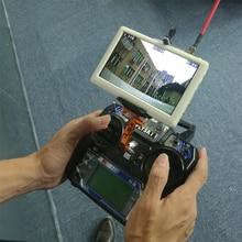 Маленький пилот HD FPV монитор 5 дюймов 5,8G 40CH приемник дисплей экран с высоким разрешением наземная станция дисплей QAV250 гоночный Дрон