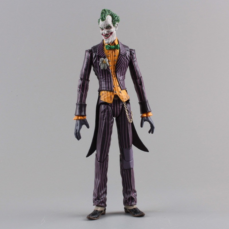 DC Batman The Joker PVC Action Figure Collectible Model Toy 7 18cm neca batman begins bruce wayne joint movable pvc action figure collectible model toy 7 18cm