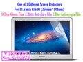 Universal 11 11.6 pulgadas 16:9 Brillante Clear película protectora Mate antideslumbrante protector de pantalla Azul Anti-miopía notebook equipo