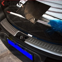 2010 2011 KIA Sportage Rear Bumper Sill Protector Plate Steel