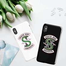 American TV Riverdale Southside Serpent Jughead Jones hard plastic Phone Case Cover For iPhone XR XS MAX 5 5S SE 6 6S 7 7PLUS
