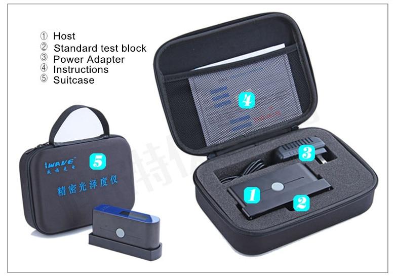 Precision Glossmeter Gloss meter tester 0-200Gu precision
