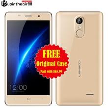 Original Leagoo M5 Desbloqueado Quad Core Smartphone 2 GB RAM + 16 GB ROM Android OS 6.0 MTK6580 3G Huella Digital Del Metal Dual SIM WCDMA