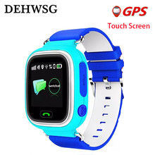 GPS Smart Baby Watch Q90 With Wifi Touch Screen SOS Call Location Device Tracker For Kids Safe Anti-Lost Monitor PK Q50 Q100(China)