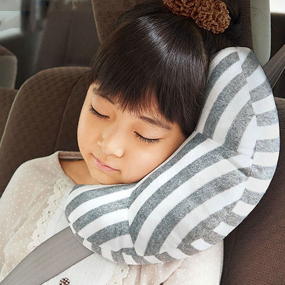 Kid Car Pillows Auto Safety Seat Belt Vehicle Shoulder Cushion Pad Children Protection Support Soft Pillow For Kids Car Pillow