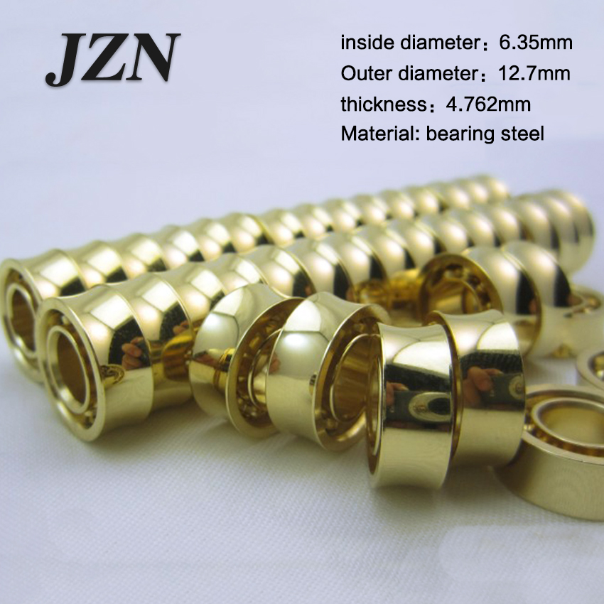Free Shipping (1Pcs) UR188 Yo-yo Accessories 24K Gold-plated 8 Beads 10 KK Bearings Super Long Sleep Super Spinning Idi Ball