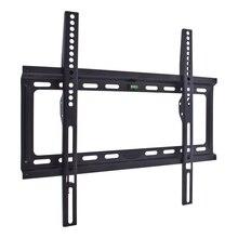 ТВ Кронштейн Kromax IDEAL-3 new black (Настенный, сталь, LED/LCD/PLASMA телевизоров 22'-65', max 50 кг, настенный, 0 ст свободы, от стены 23 мм, max VESA 400x400 мм, водяной уровень, тонкий профиль)