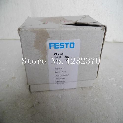 [SA] New original authentic special sales FESTO solenoid valve MC-2-1 / 8 Spot 2187 [sa] new original authentic special sales festo solenoid valve vl 5 3g d 2 c spot 151848
