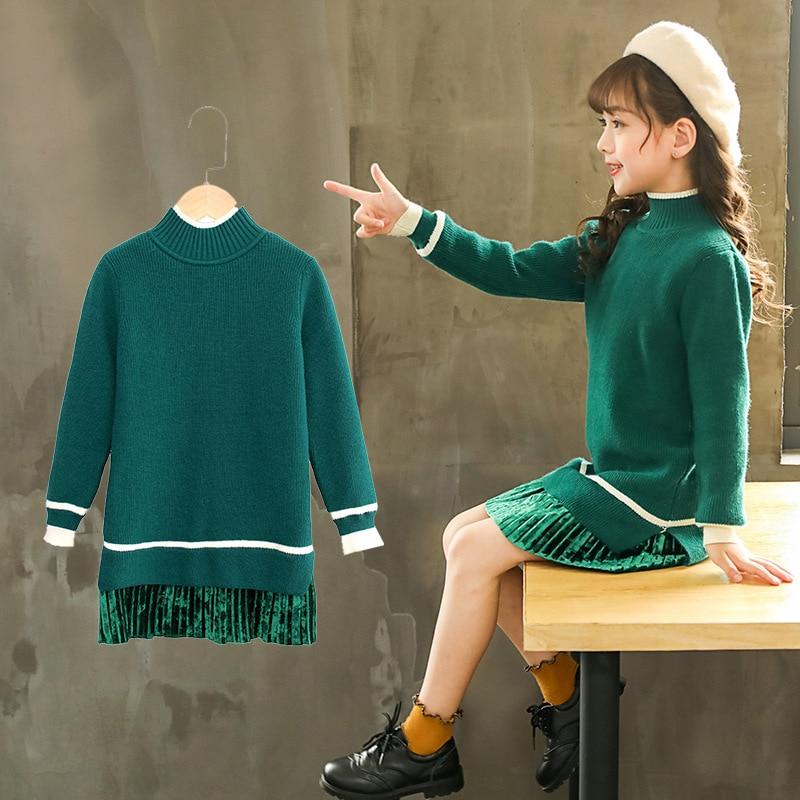 Children S Christmas Sweater For Girls Lolita Style Long