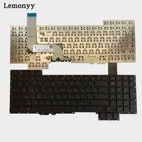 NEW Russian Keyboard For Asus G751 G751JM G751JT G751JY 0KNB0 E601RU00 ASM14C33SUJ442 RU Laptop Keyboard No
