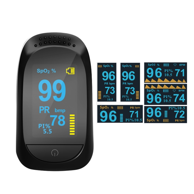 EDAL Household Health Monitors Oximeter Medical Heart Rate ...
