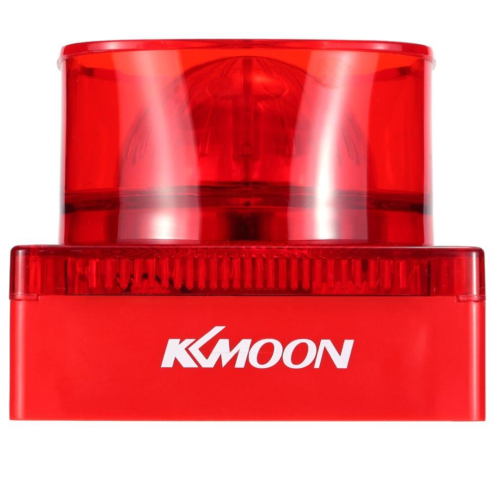 bilder für KKmoon 105dB Feuer Sensor Alarm Sirene Sound & Strobe Horn Red Blitzlicht Für Home Office Hotel Restaurant Sicherheit System