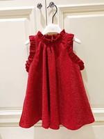Children Dress Spring Autumn Sleeveless Overall Toddler Girls Dresses Robe Fille Enfant Top Quality Christmas Princess