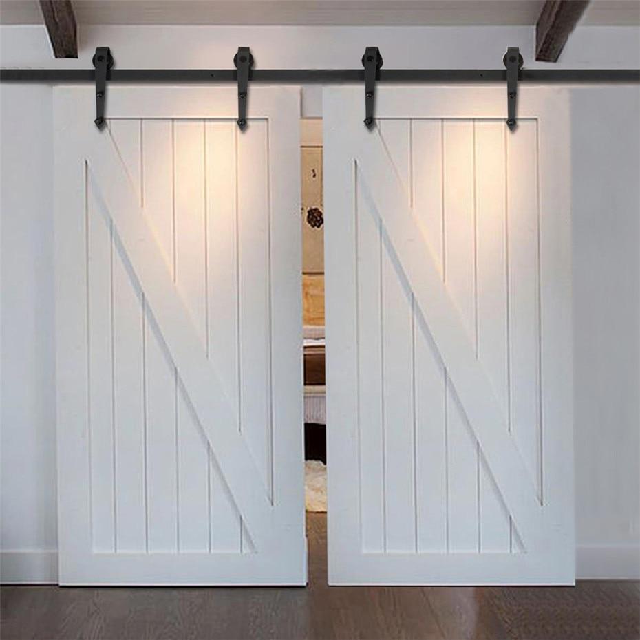 Double Sliding Barn Door Hardware Door Ideas Themiraclez