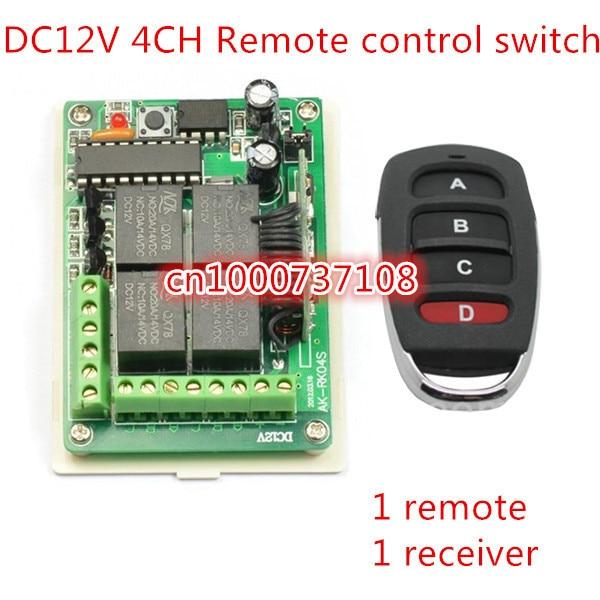 AK-RK04S-12 NEW 12v 4 Channel Rf Wireless Remote Control Switch /CAR shape remote ,rf 4 buttons remote controlloer