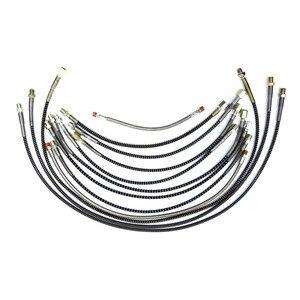 Шланг высокого давления, пружинная обернутая трубка PCP для пейнтбола, запчасти для воздушного наполнения, связанные с различной длиной и ва...