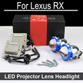 Bi-xenon car LED Projector lens Assembly For Lexus RX300 RX350 RX330 with halogen headlight ONLY Retrofit Upgrade (2000-2008)