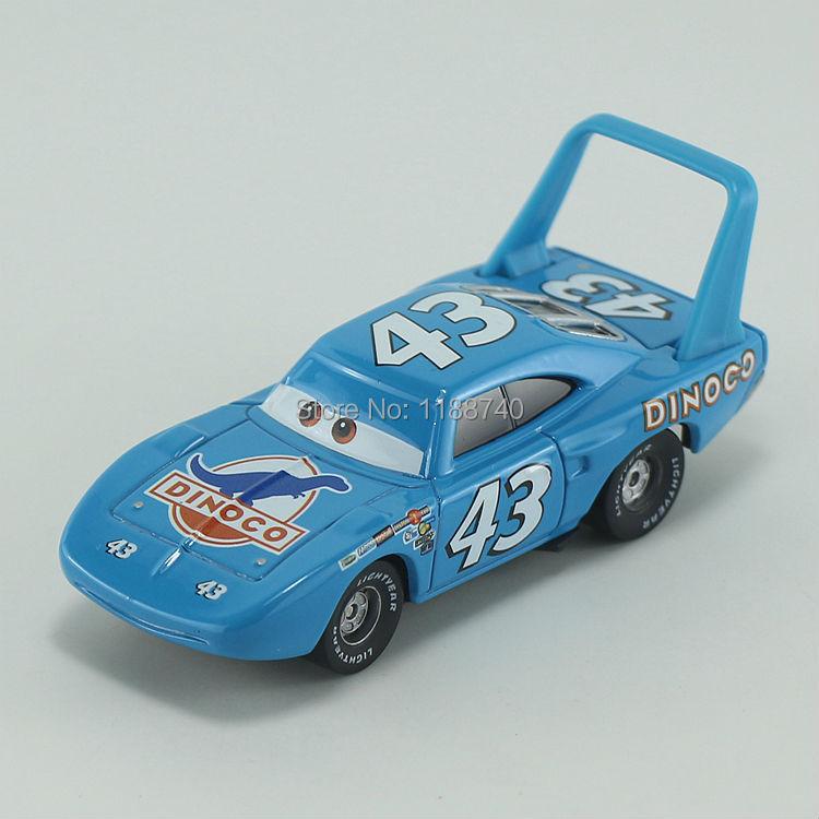 All Cars 1 Race Car Toys : Pixar cars no race team the king diecast metal toy car