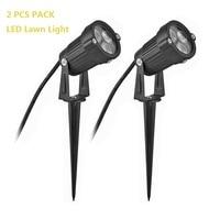 2 PZ PACK 3 W LED Prato Luce LED Proiettore Illuminazione Esterna impermeabile LED Wall Luce Lampade A LED per Giardino Yard Path Spotlight