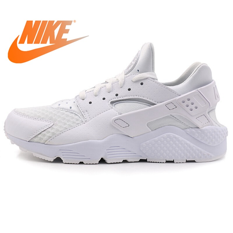 6bb1775dd609 Original Authentic NIKE Air Huarache Men s Running Shoes Sneakers Outdoor  Sports Designer Athletics Official Breathable 318429