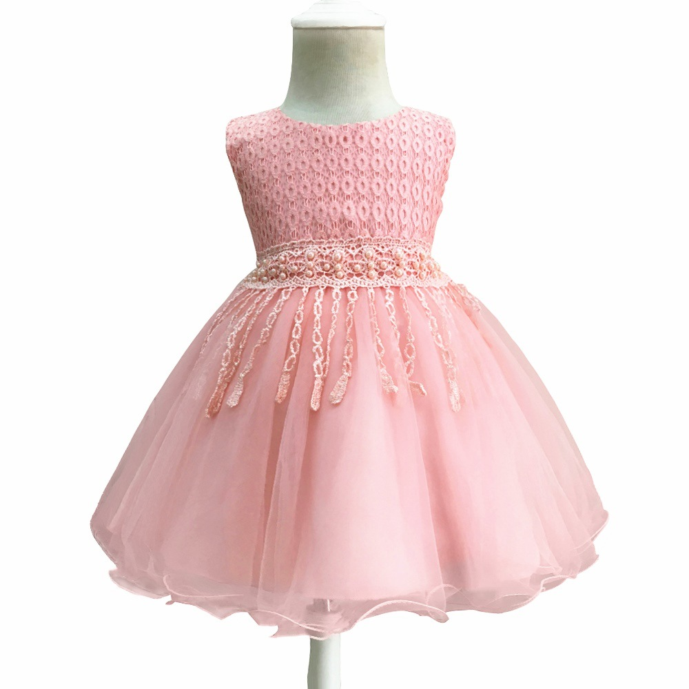 Little Girls Dresses 2018 Infant Children Birthday Baptism tutu Princess Dress For Baby Girl Clothes 0 1 2 years Kids Clothing ...