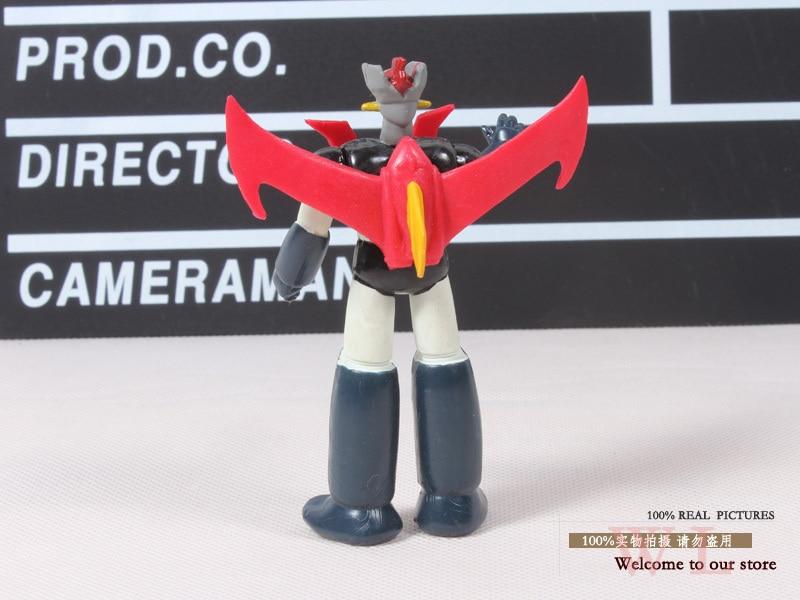 Free Shipping 1pcs Anime Cartoon Robot Mazinger Z PVC Action Figure Collectible Model Toys OTFG093