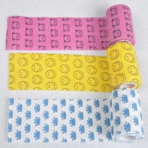 Image 2 - 1 rulo elastik kendinden yapışkanlı bandaj ilk yardım kiti su geçirmez kasları bakım dokunmamış kumaşlar bilek bandaj 7.5*450cm