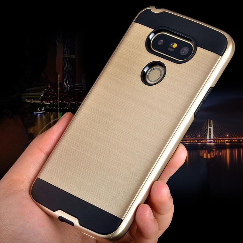 НОВИЙ розкішний бренд V5 Матовий жорсткий ультратонкий бронежилет для LG G5 H850 / G6 гібридного ПК + TPU протиударний задній чохол для LG G 5