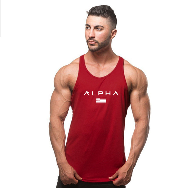 New Muscle Cotton Gym Tank Tops Men Sleeveless Tanktops For Boys Bodybuilding Clothing Undershirt Fitness Stringer workout Vest