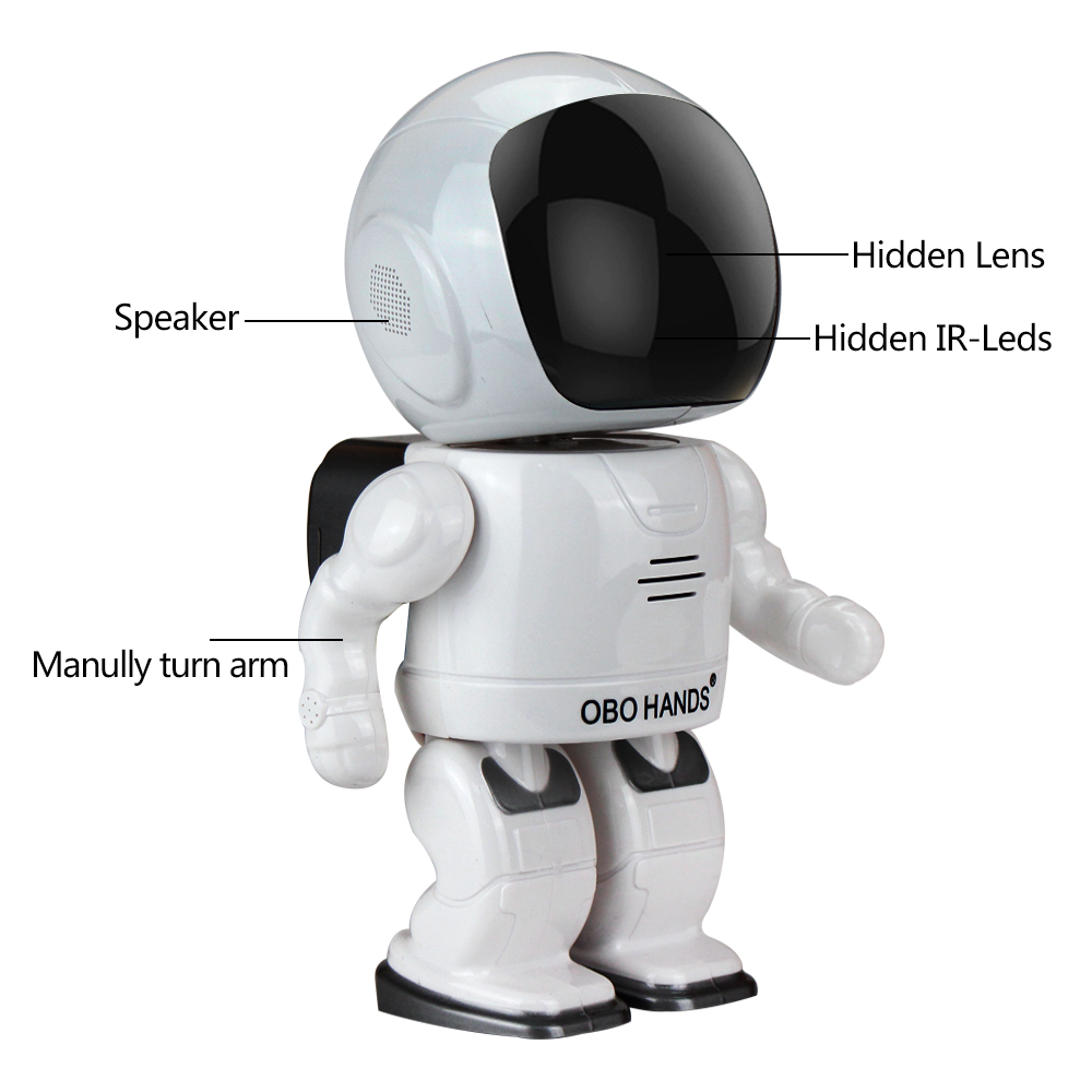 Robot camera Wifi 960P 1.3MP HD Wireless IP Camera PTZ Two Way Audio P2P Indoor Night Vision Wi-fi Network Baby Monitor Security