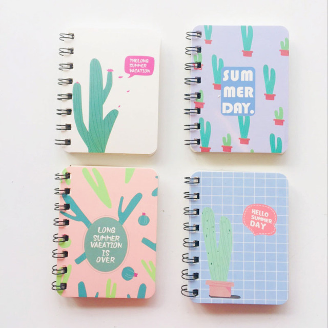 80 Sheets Hard Cover Cactus Flamingo Cat Portable Notebook To Do List School Office Supply Student Stationery Notepad-in Notebooks from Office & School Supplies on Aliexpress.com | Alibaba Group