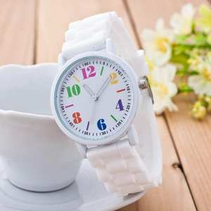 Womens Watches Silicone Luxury Kol Motion Top-Brand Creative Mujer Bayan Quartz Saati