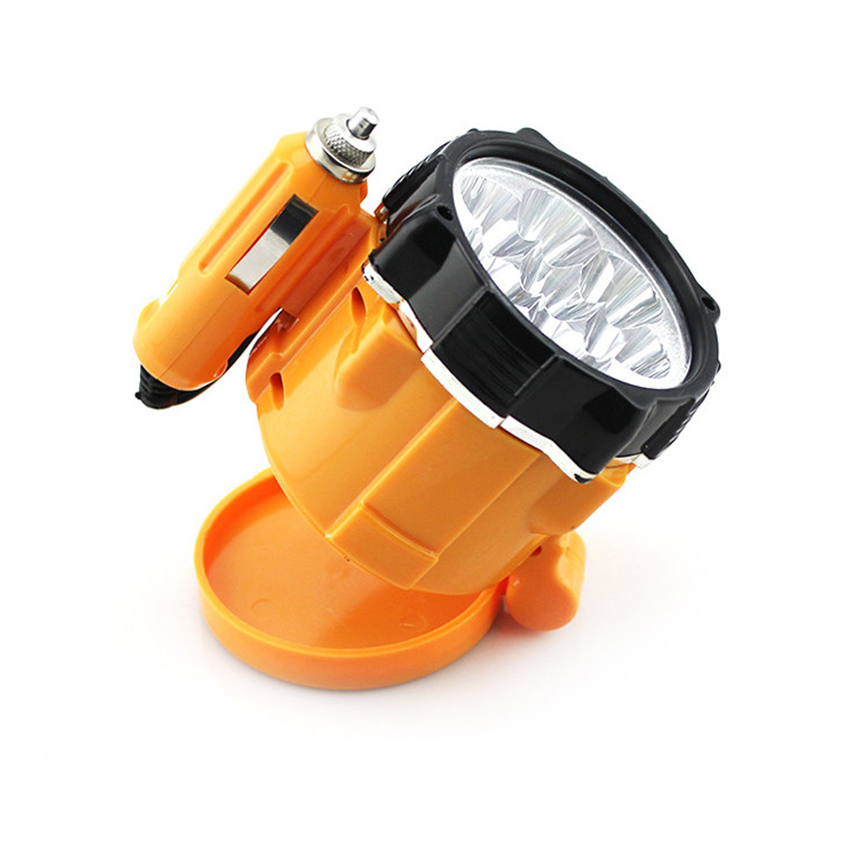 Universal Car 12V 7 Lamps LED Magnet Car Emergency Lights Lighter Magnetic Auto Car Repair Work Light Easy to carry factory direct sales of new 5wled emergency lights power failure emergency lights to stop the use of portable easy to use