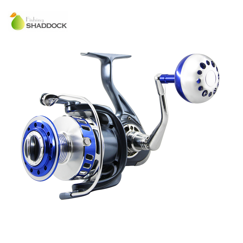 13BB Ball Bearings Full Metal Body Fishing Reels China Aluminum Alloy Saltwater Fishing Spinning Reel MX4000-7000