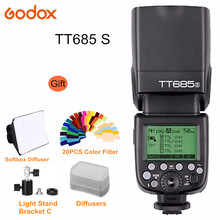 Godox TT685S 2.4G TTL GN60 Wireless Speedlite Flash for Sony A7 A7R A7S II A6300 A6000 DSLR Camera Speedlight