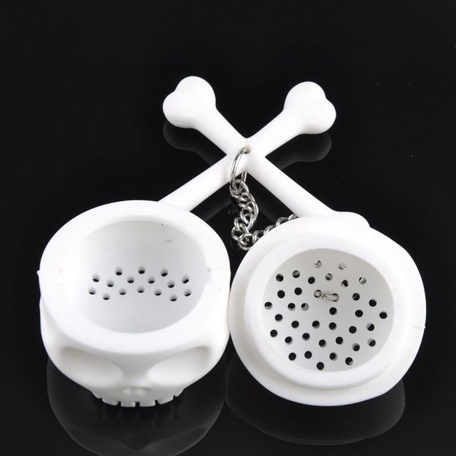 Silicon Rubber Skull Tea Infuser 70*60*60mm (1pc)