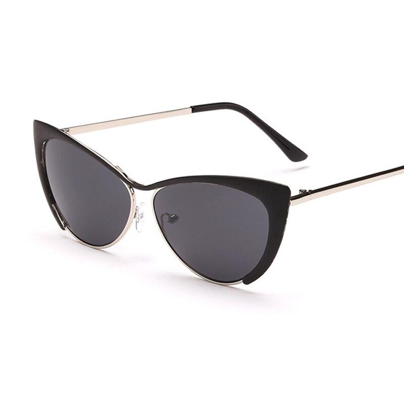 85bd6962b3a1e New Metal Frame Sexy Cat Eye Sunglasses for Women Coating Brand Vintage Sun  Glasses Female retro de grau Femininos UV400-in Women s Sunglasses from  Apparel ...